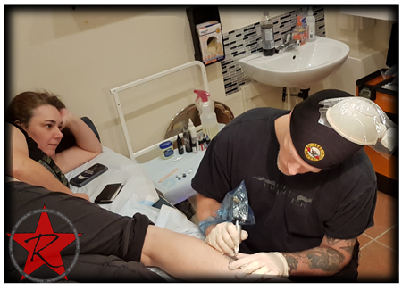 CJ robin tattoo repair