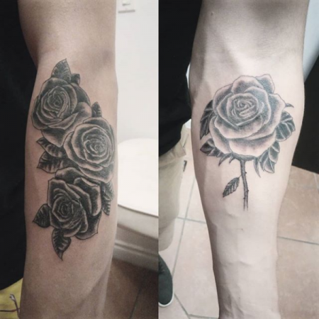 Rose Tattoo - Revolution Ink