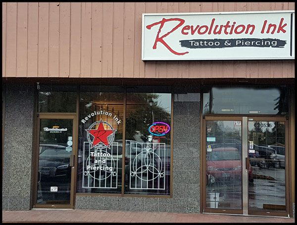 Revolution Ink Tattoo Exterior