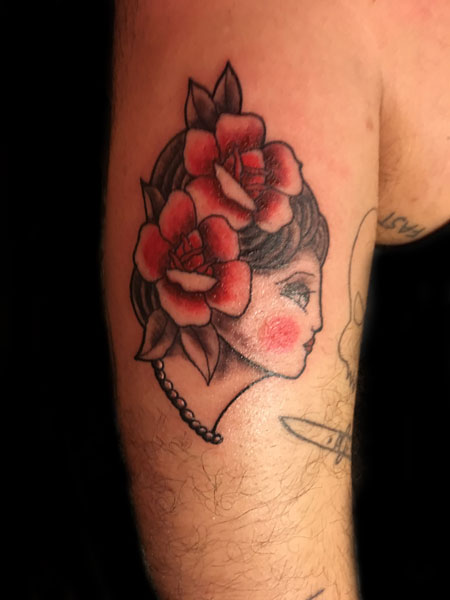 Tattoo by Eanna, Tattoo Apprentice