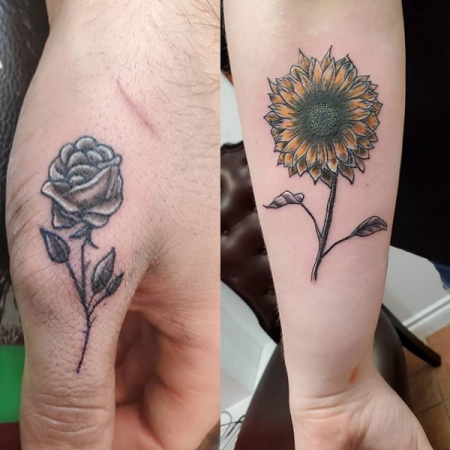Flower Tattoo - Revolution Ink