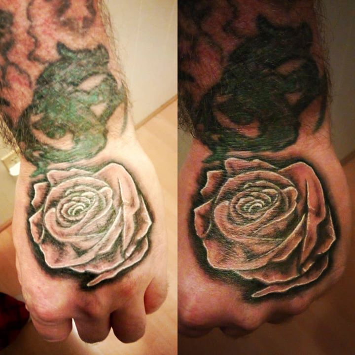 Reworked and finished up my hand yesterday, happy with ...
